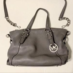 Michael Korda Gray Handbag